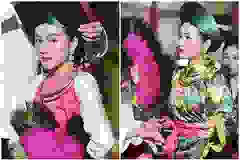 """Vẻ đẹp hút hồn của """"hot girl"""" hầu đồng xinh đẹp ở Hà Nội"""