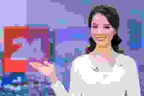 Á hậu Thụy Vân lên sóng đập tan tin đồn nghỉ việc ở VTV