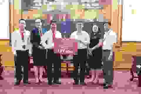 DOJI tặng 1 tỷ đồng hỗ trợ đồng bào bị ảnh hưởng bởi lũ lụt tại Thừa Thiên - Huế