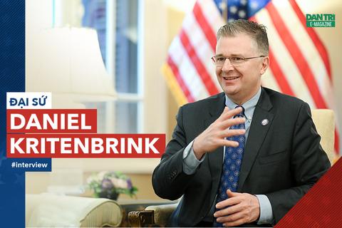 """Đại sứ Daniel Kritenbrink: 30.000 """"đại sứ văn hóa"""" gắn kết quan hệ Việt-Mỹ"""
