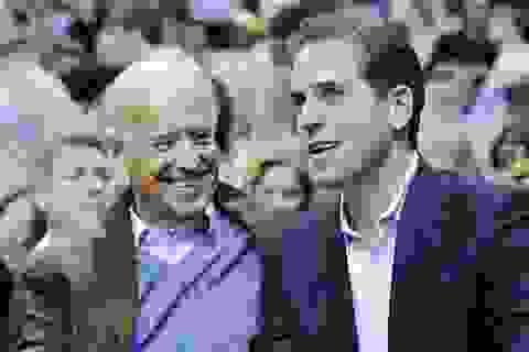 Bầu cử Mỹ 2020: Thêm thông tin nghi vấn về chuyện làm ăn của con trai Biden