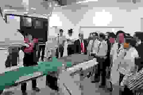 Bệnh viện Đa khoa Khánh Hòa trang bị máy chụp mạch máu DSA gần 29 tỷ đồng