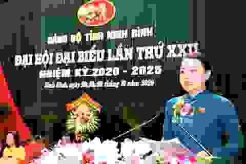 Bà Nguyễn Thị Thu Hà tái đắc cử Bí thư Tỉnh ủy Ninh Bình