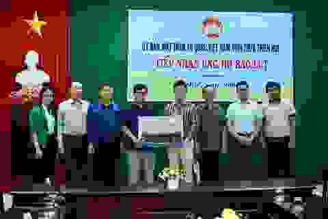 Cotana Group chung tay giúp đỡ đồng bào Thừa Thiên Huế bị lũ lụt