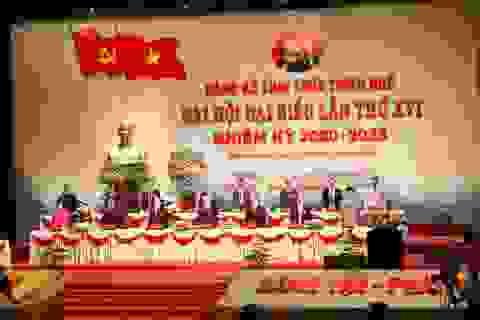 Đại hội Đảng bộ TT-Huế dành phút mặc niệm nạn nhân mưa lũ miền Trung