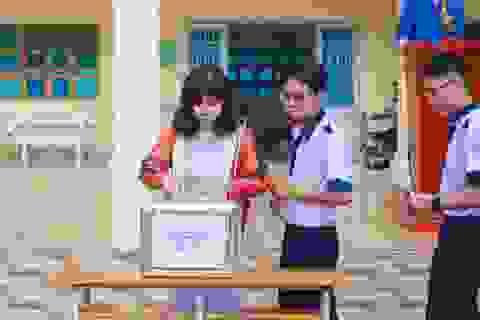 Học sinh Sóc Trăng, Bạc Liêu quyên góp ủng hộ đồng bào miền Trung