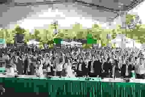 Lễ ra quân rợp hào khí quyết tâm của dự án Khu đô thị Xanh Villas