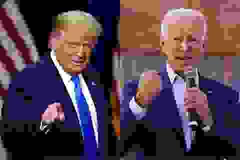 """Bầu cử Mỹ 2020:  Những màn """"đấu khẩu"""" quyết liệt của Trump - Biden"""