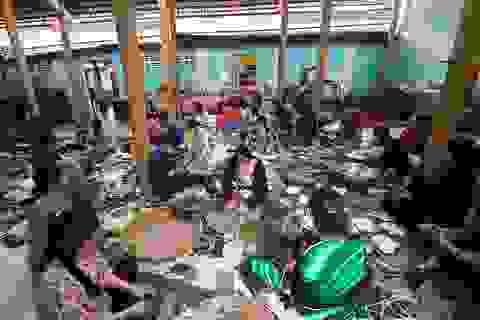 Nhà chùa ở Vĩnh Long gói 10.000 đòn bánh tét gửi đồng bào ở miền Trung