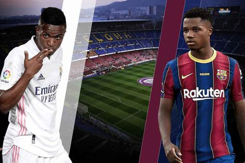 Đại chiến Barcelona - Real Madrid: Cơn mưa rào của tuổi trẻ