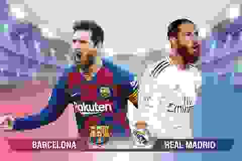 [Infographic] Barcelona - Real Madrid: Cuộc chiến không khoan nhượng