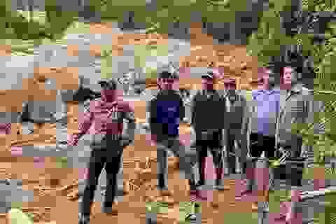 Vụ sạt lở vùi lấp lán trại của 4 người đi rừng: Tìm thấy cả 4 thi thể