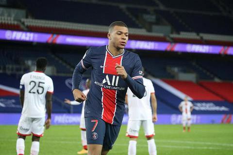 """Mbappe thăng hoa, PSG thắng cách biệt """"4 sao"""" tại Ligue 1"""