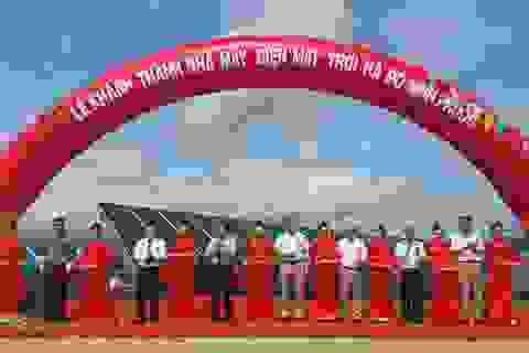Ninh Thuận khánh thành nhà máy điện mặt trời ngàn tỷ