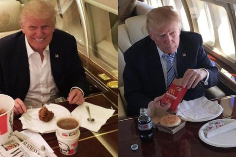 """Bầu cử Mỹ 2020: Khi đồ ăn nhanh trở thành """"vũ khí"""" tranh cử tổng thống"""