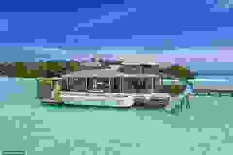 Chiêm ngưỡng thiên đường nghỉ dưỡng trên mặt nước lớn nhất thế giới