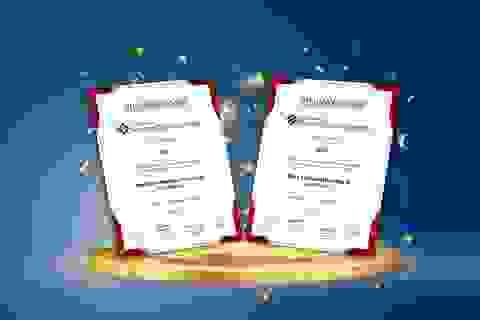 BIDV được vinh danh với 2 giải thưởng lớn