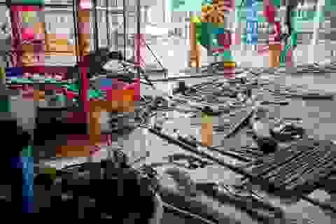 Quảng Trị, Khánh Hòa, Quảng Bình cho học sinh nghỉ học để tránh bão số 9