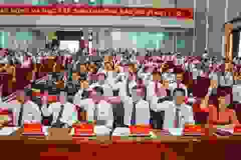 Đại hội Đảng bộ Cà Mau không nhận hoa chúc mừng