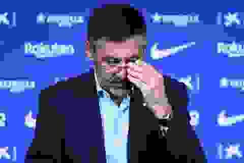 "Barcelona ""loạn"" sau khi thua Real Madrid, Chủ tịch Bartomeu sẽ từ chức?"