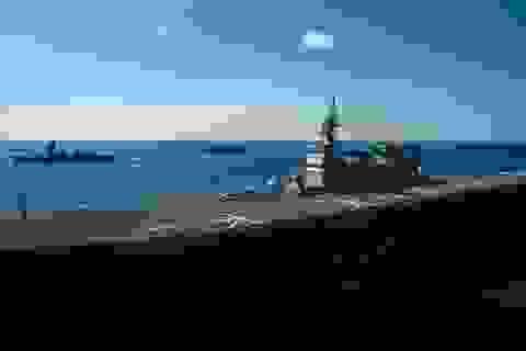 """Tàu sân bay Mỹ - Nhật tập trận """"khủng"""""""