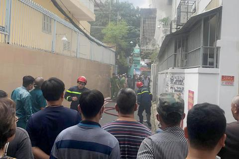 Cháy nhà trong hẻm, 1 người tử vong