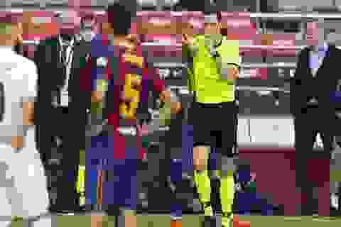 Tiết lộ bất ngờ về quả phạt đền tranh cãi ở trận Barcelona-Real Madrid