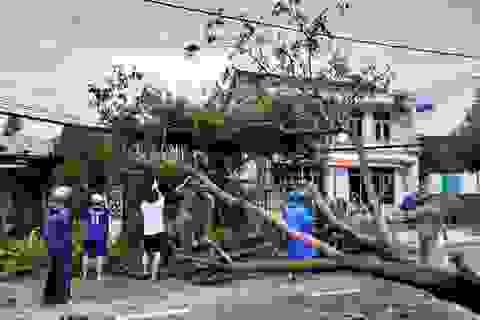 """Hơn 4 giờ bão số 9 """"quần thảo"""", Hội An và Tam Kỳ tan hoang"""