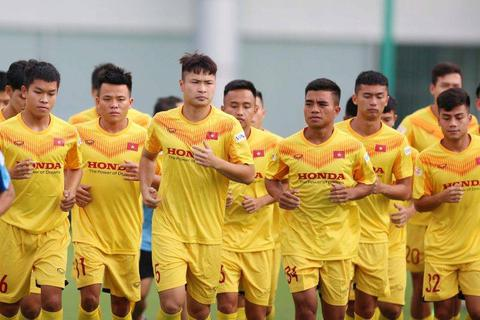 U22 Việt Nam tập trung chạy đà cho chiến dịch SEA Games 31