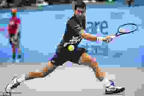 Vienna Open: Djokovic đánh bại bạn thân Krajinovic