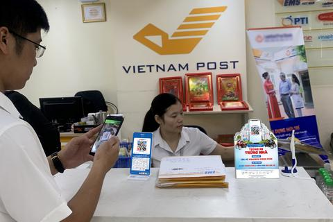 Kết nối VNPAY-QR, Bưu điện Việt Nam hướng tới thanh toán không tiền mặt trên toàn quốc