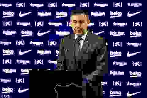 Chủ tịch Barcelona tuyên bố từ chức