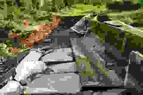 Công trình trăm tỷ từng được vá bằng bùn nhão lại hư hỏng do... thiên tai