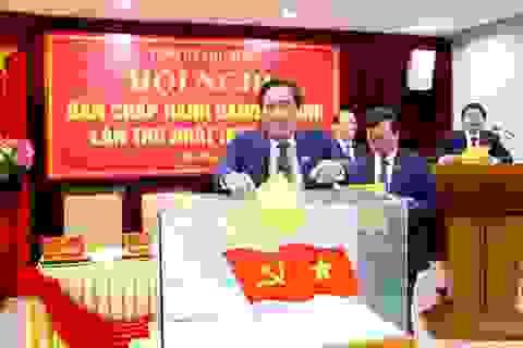 Ông Bùi Minh Châu tái đắc cử Bí thư Tỉnh uỷ Phú Thọ