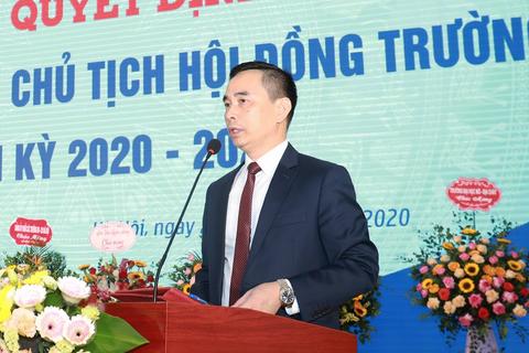 Trường ĐH Thương Mại công bố Hội đồng trường mới