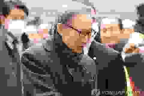 Cựu Tổng thống Hàn Quốc  Lee Myung-bak lĩnh án tù 17 năm