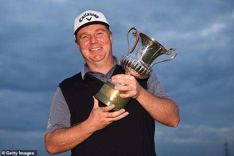 Ross McGowan giành chiến thắng kịch tính tại giải golf Italia Open