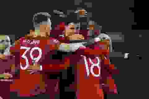 Man Utd 5-0 RB Leipzig: Hat-trick ấn tượng của Rashford