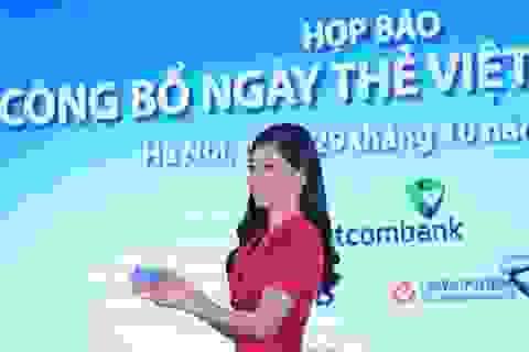 Ngày thẻ Việt Nam 2020, phát hành hơn 10.000 thẻ trả trước không tiếp xúc