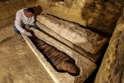 Tìm thấy mộ 2.500 tuổi của đại thần chuyên trông coi kho bạc cho Pharaoh