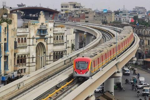 Tuyến Metro đầu tiên của Pakistan do Trung Quốc đầu tư chính thức lăn bánh