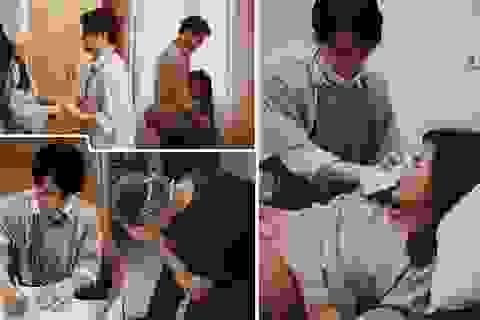Đông Nhi chia sẻ khoảnh khắc Ông Cao Thắng căng thẳng, lo lắng chờ vợ sinh