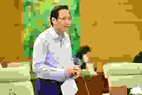 """Bộ trưởng Đào Ngọc Dung: """"Tiếp tục thống kê để hỗ trợ người dân vùng lũ"""""""