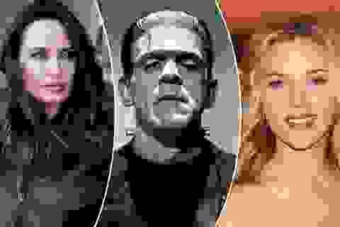 """Scarlett Johansson và Angelina Jolie tranh làm… """"cô dâu của Frankenstein"""""""
