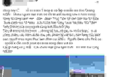 """Người dân Quảng Ngãi bức xúc phản ứng thông tin """"canh me tiền từ thiện"""""""