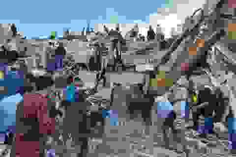 Video động đất 7 độ rung chuyển Thổ Nhĩ Kỳ, Hy Lạp