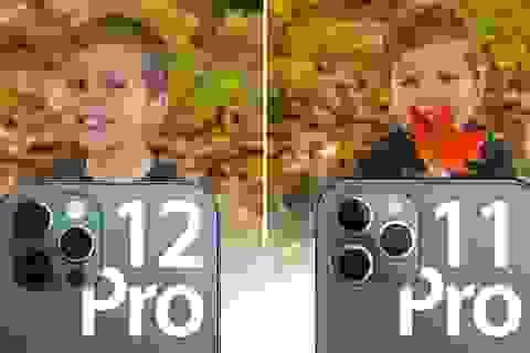 So sánh ảnh chụp từ iPhone 12 Pro với 11 Pro