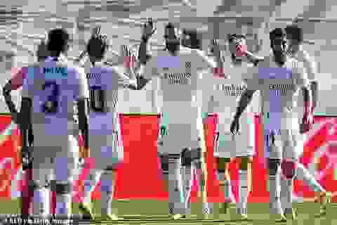 Eden Hazard ghi bàn, Real Madrid tiếp tục dẫn đầu La Liga