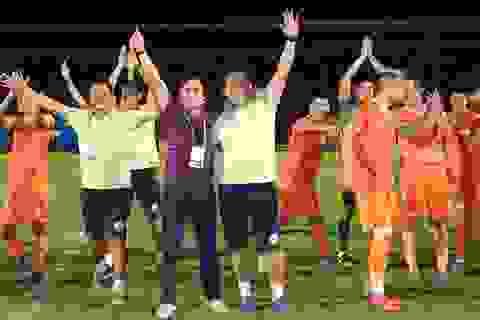 Niềm vui của bóng đá Bình Định ngày trở lại V-League