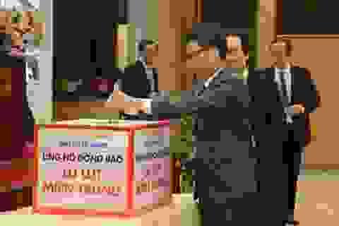 Bộ Giáo dục - Đào tạo kêu gọi ủng hộ sách, vở cho học sinh miền Trung